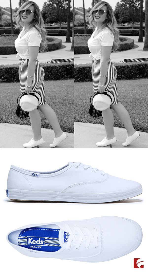 Sneakers, Famous footwear, White keds