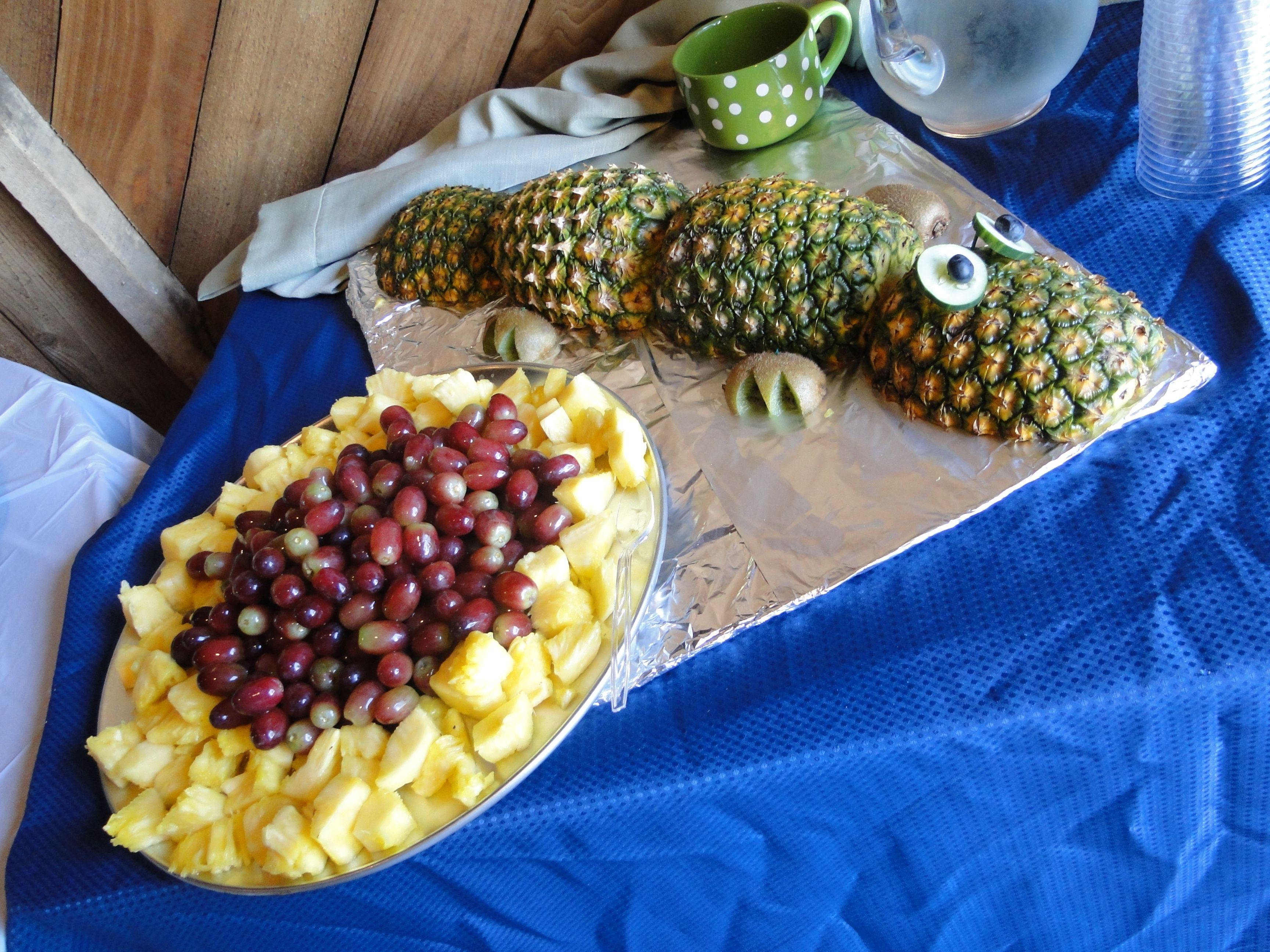 Pineapple Alligator Alligator Baby Shower Pinterest