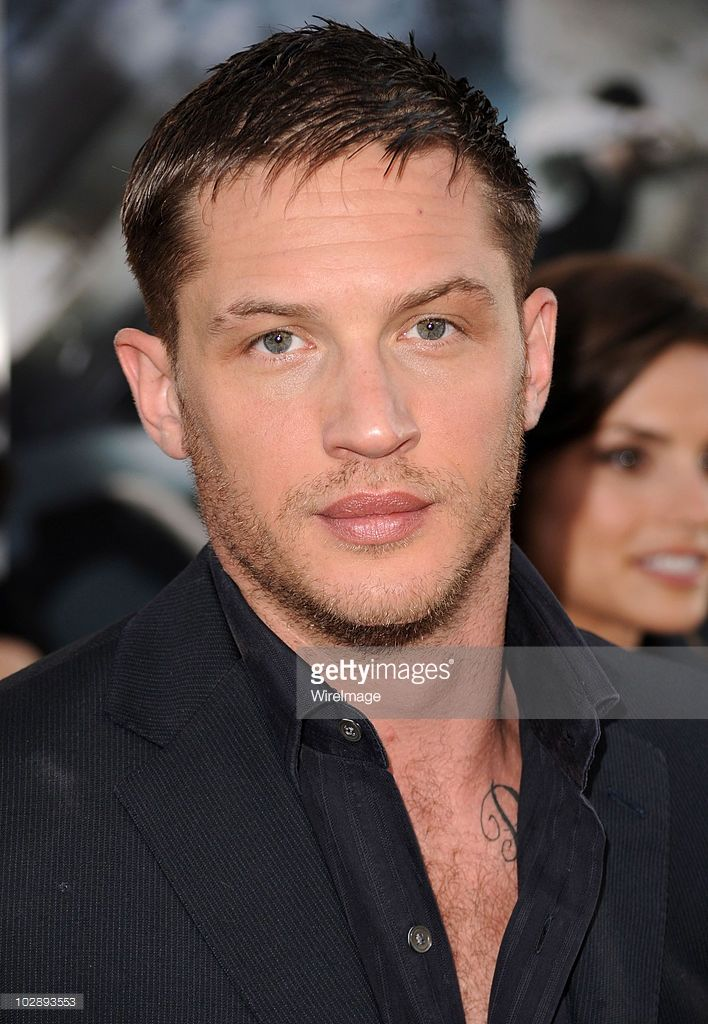 Actor Tom Hardy Attends The 'Inception' Los Angeles