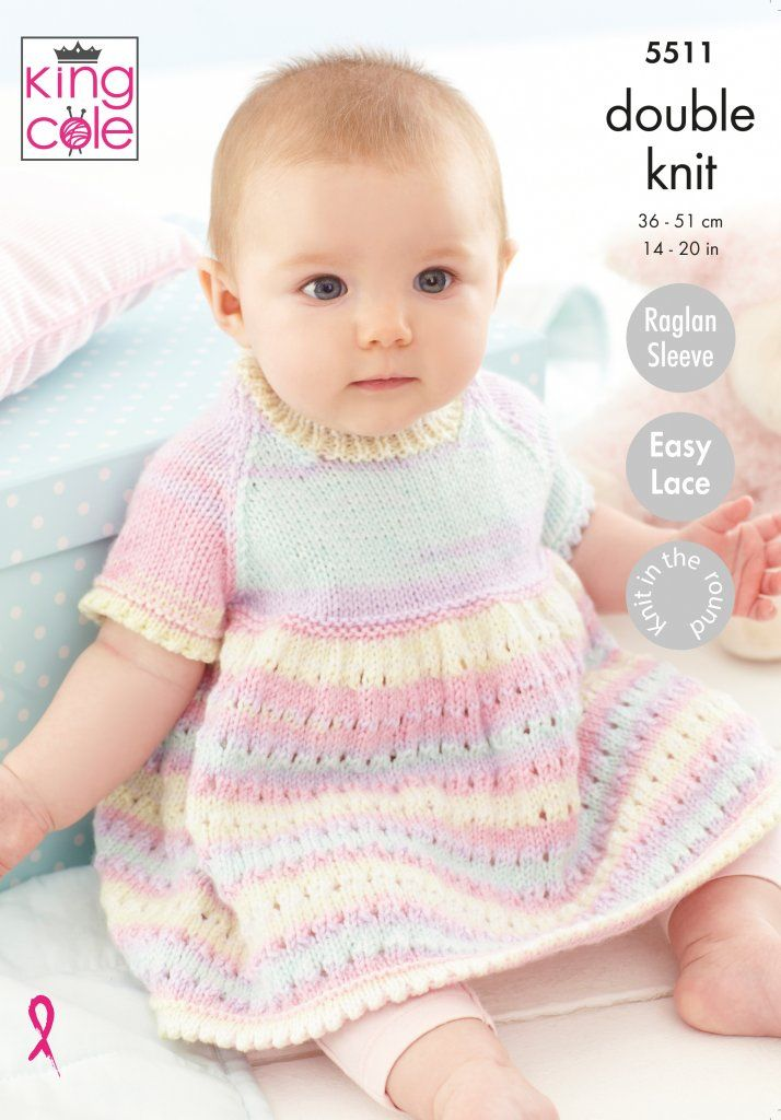 Easy to Follow Dress, Matinee Coat & Blanket: Knitted in ...