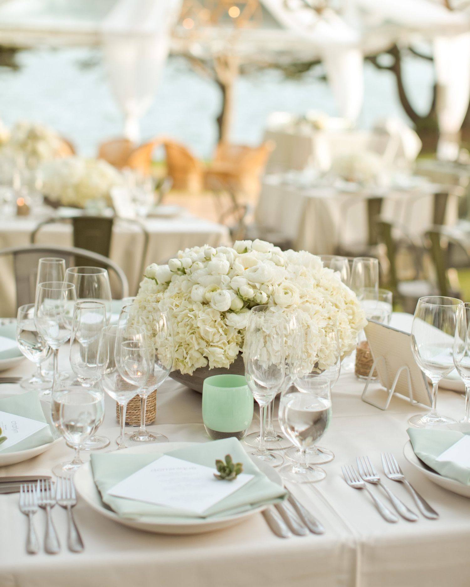 40 of Our Favorite Floral Wedding Centerpieces | Pinterest | White ...