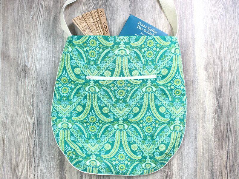 Schultertaschen - Tasche, Designerstoff, Beutel, Stofftasche,  - ein Designerstück von Belaine bei DaWanda