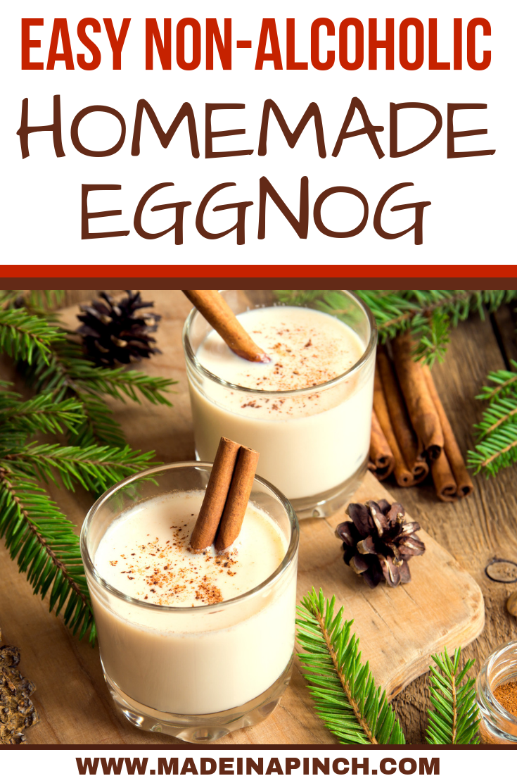 Homemade Eggnog Without Alcohol