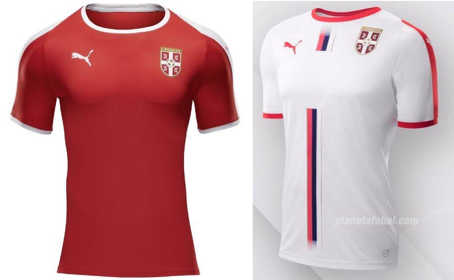 f8af4353db1 World Cup 2018 Kits Serbia (Home   Away Jerseys) – Puma  disnaija   worldcup2018  fifaworldcup  football  roadtorussia  worldcup2018russia   russia2018   ...