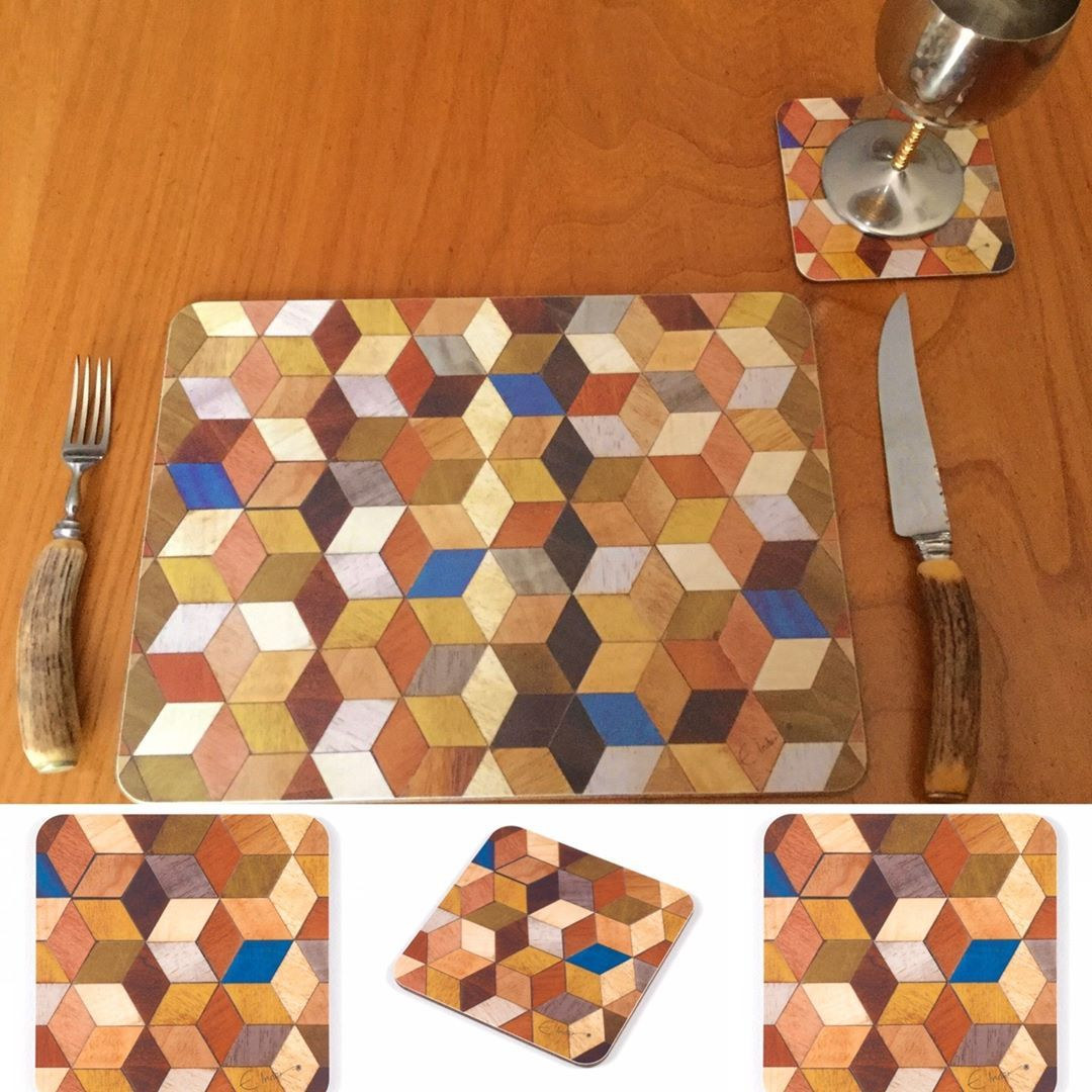 E Inder Designs On Instagram Warm Autumn Colours With Placemats And Coasters From The Leo Range Tap To Shop In 2020 Placemats Fall Colors Colours