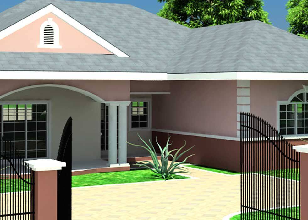 House Plans For Small Houses Liberia Ghana Nigeria Mediterranean Style House Plans Ranch Style House Plans Simple House Plans Modern house plan ghana