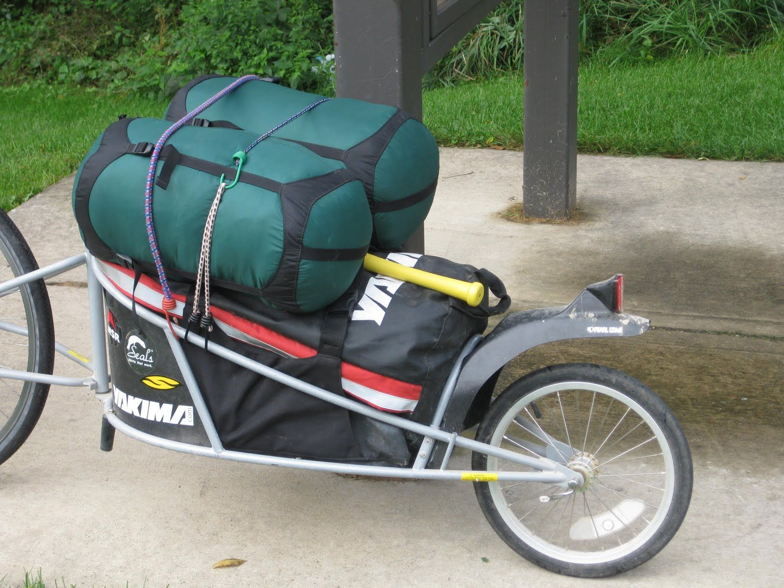 Bike Camper Trailer You Can Pull The Worlds Smallest Pop Up Camper With Your Bike