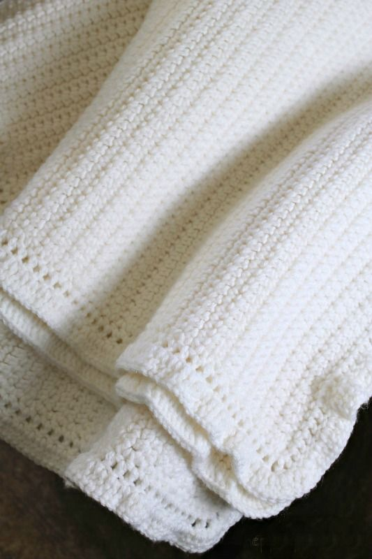 The Easiest Afghan Ever Single Crochet Stitch Single Crochet And