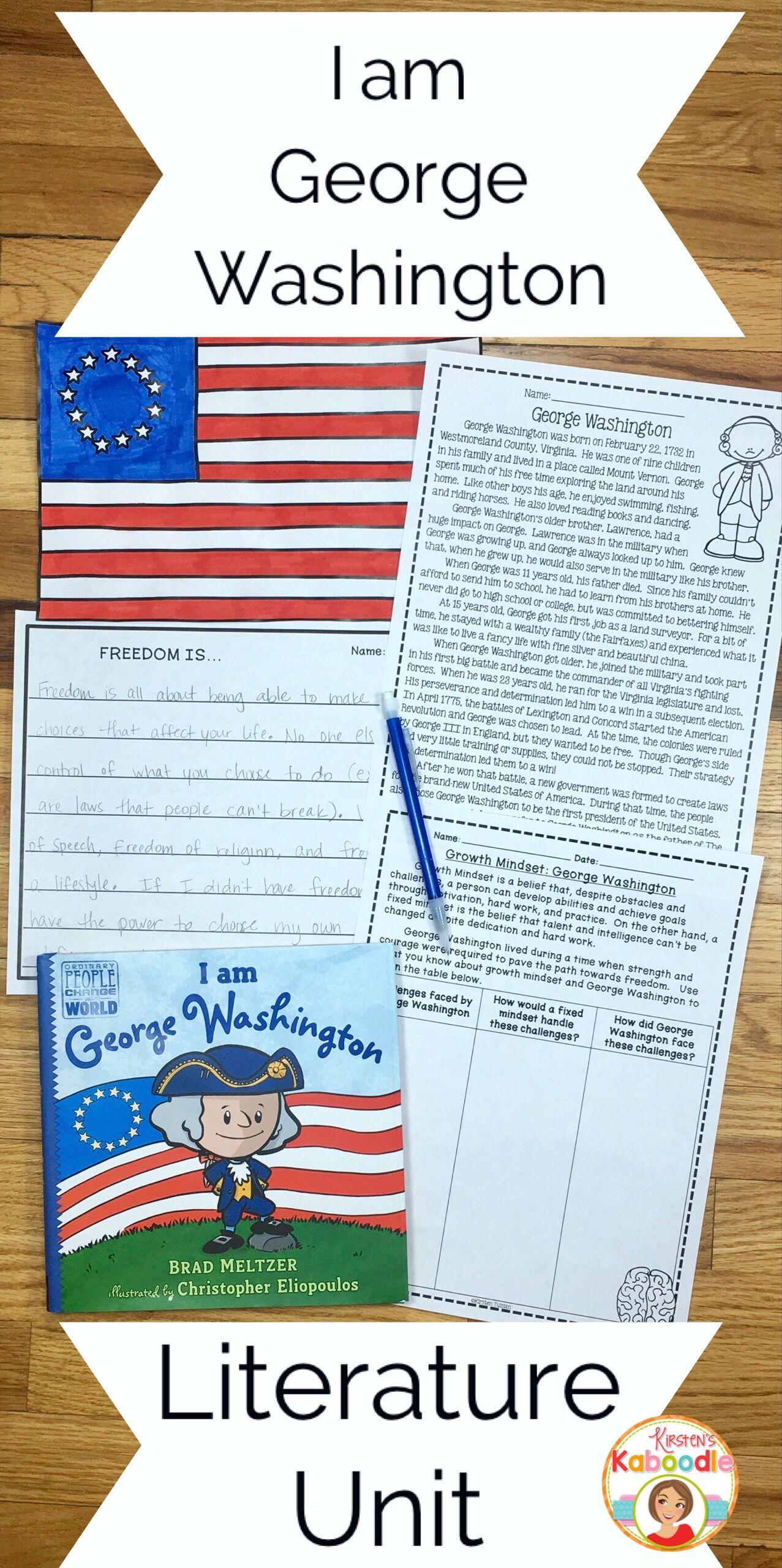 I Am George Washington By Brad Meltzer