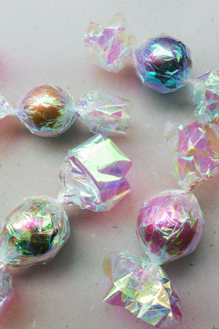 Decorazioni Natalizie Caramelle.9 Scatole Di Latta Natalizie Per Caramelle Staccabili Con Ciondolo A Forma Di Albero Di Natale Decorazioni Natalizie Decorazioni Per Interni Veppi Fi
