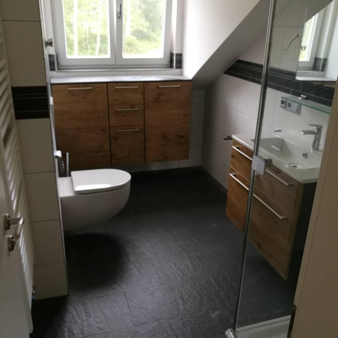 Boden Badezimmer Bad Wand Tiles Twdesign Bordure Wc Badmobel Holzoptik Bathroom Bathtub Toilet