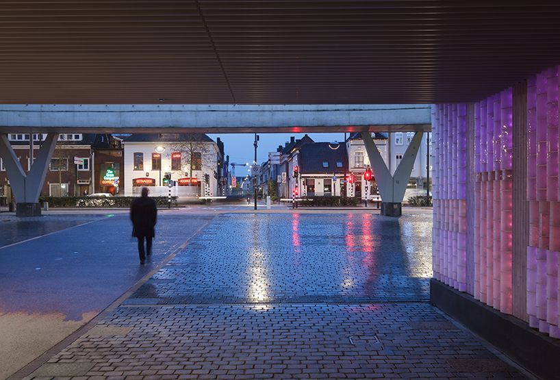 civic architects + BRIGHT revive will-II railway underpass in tilburg