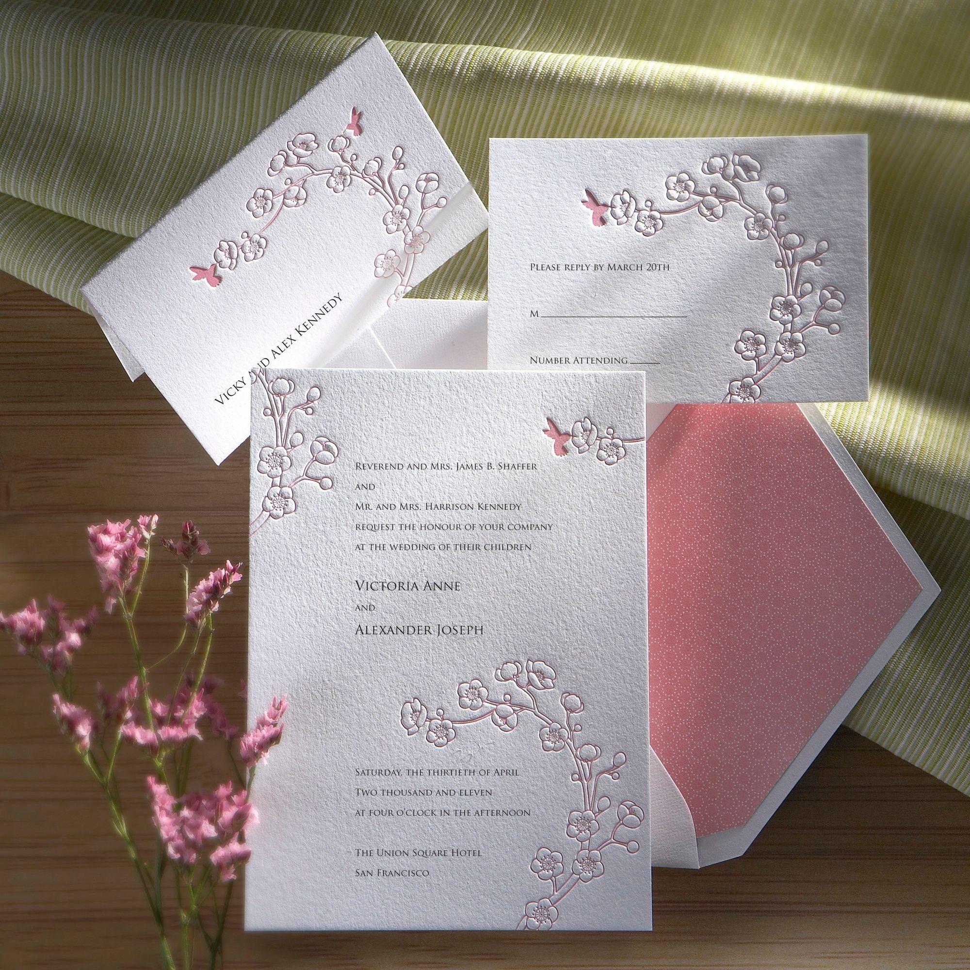 Ambrosia Wedding Invitation   #exclusivelyweddings   #pinkwedding ...