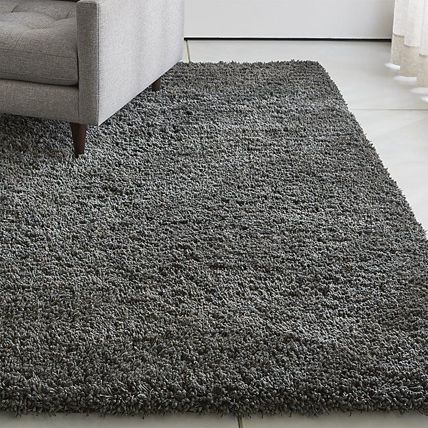 Memphis Stone Natural Shag Rug Crate And Barrel In 2020 Grey Shag Rug Rugs On Carpet Shag Rug