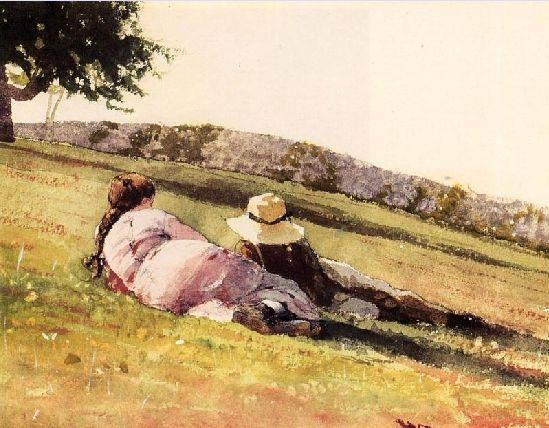 Winslow Homer Watercolors | Everlasting Moment ! :: Winslow Homer Watercolors
