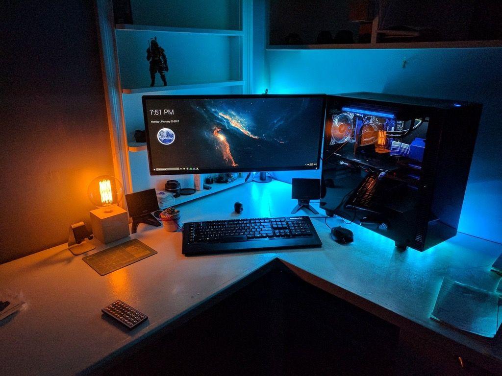 Battlestations   gaming   Pinterest   Tecnologia, Escritorios y ...