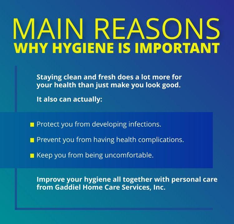 Main reasons why hygiene is important hygiene