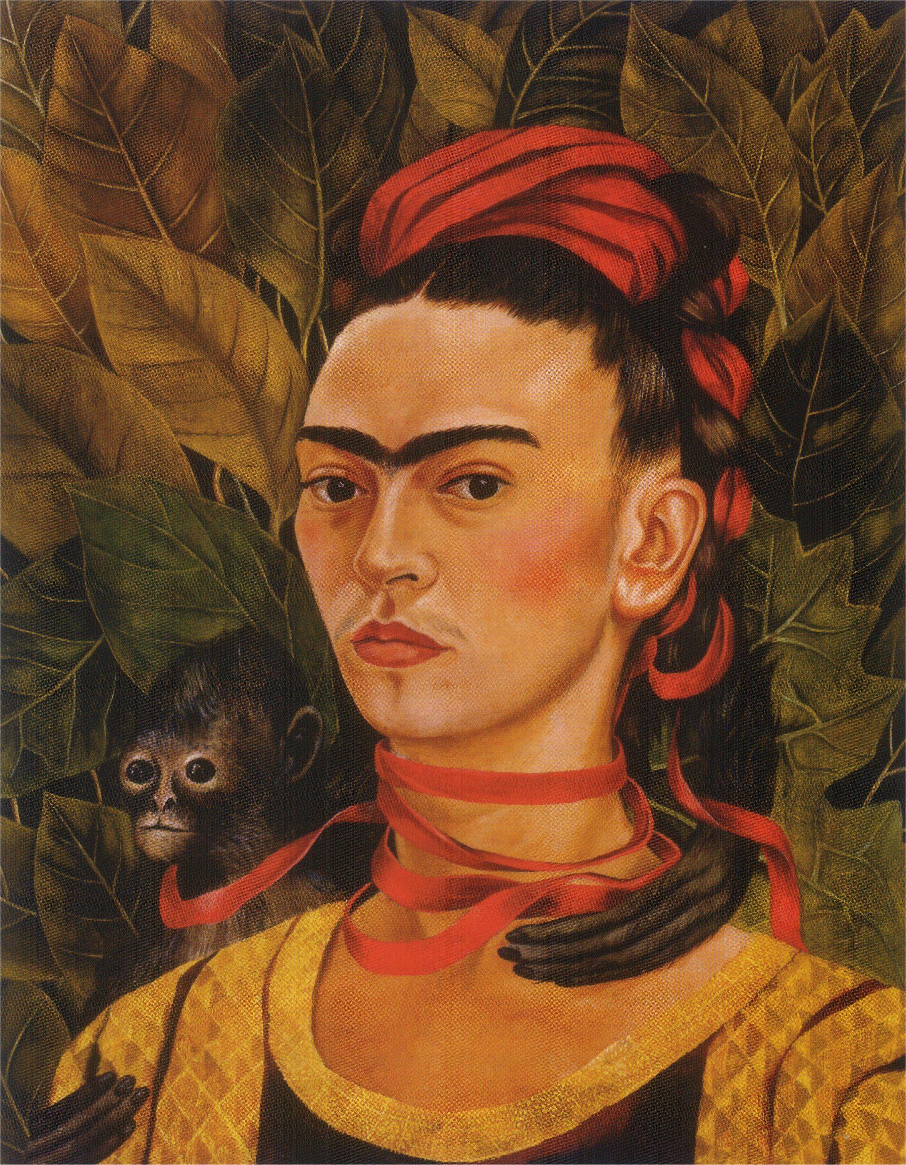 cruel beauty the self portrait paintings of frida kahlo