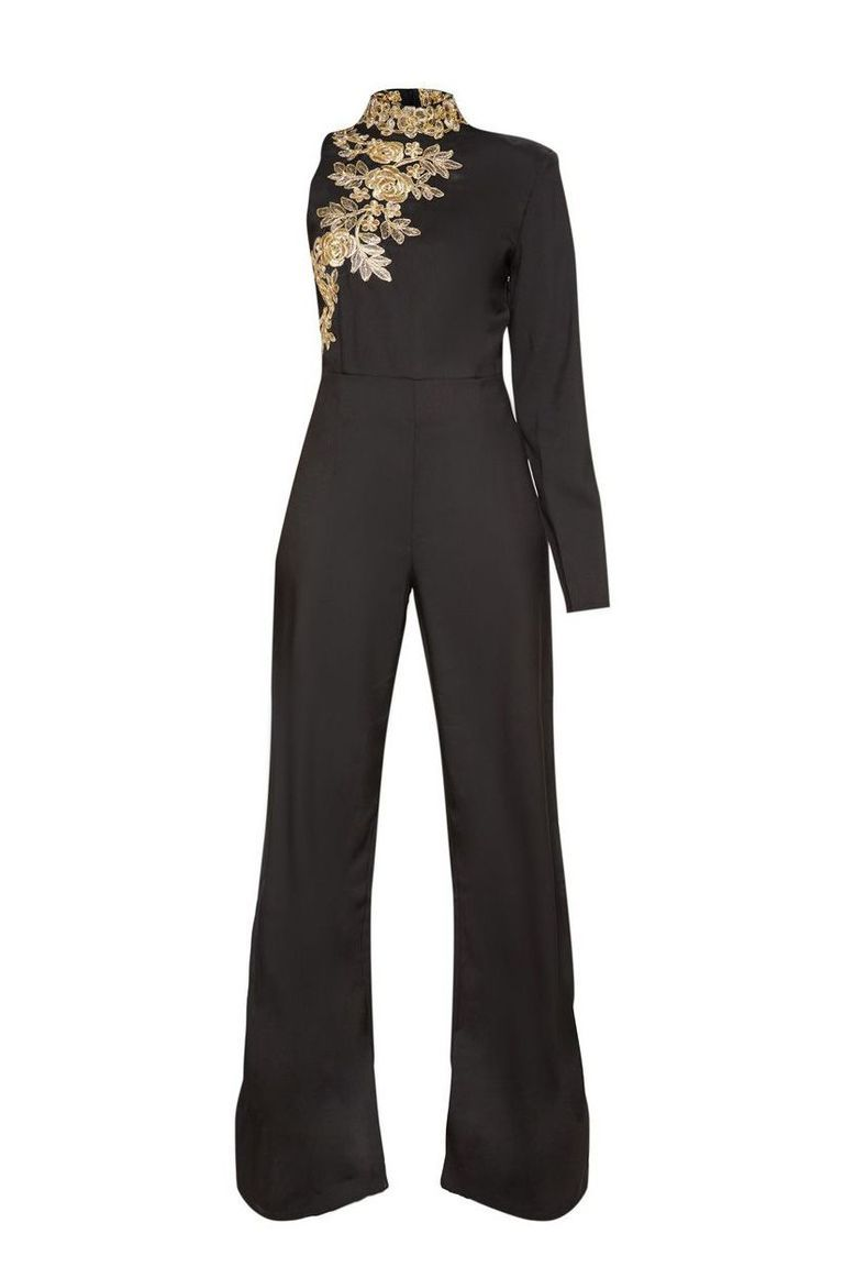 1cdd89eca7 11 Jumpsuits to Answer Your Question  What Do I Wear to My Holiday Party