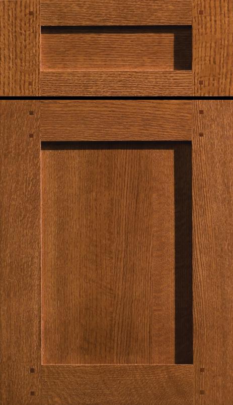Dura supreme cabinetry mills landing cabinet door style for Red kitchen cupboard doors