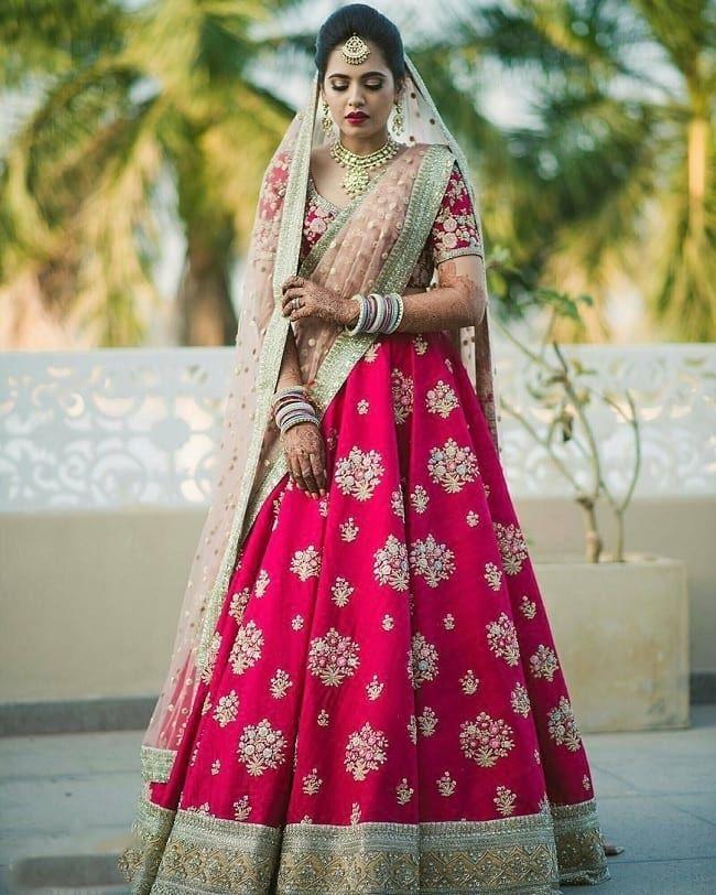 ba9eb7155071 100 Latest Designer Wedding Lehenga Designs for Indian Bride ...