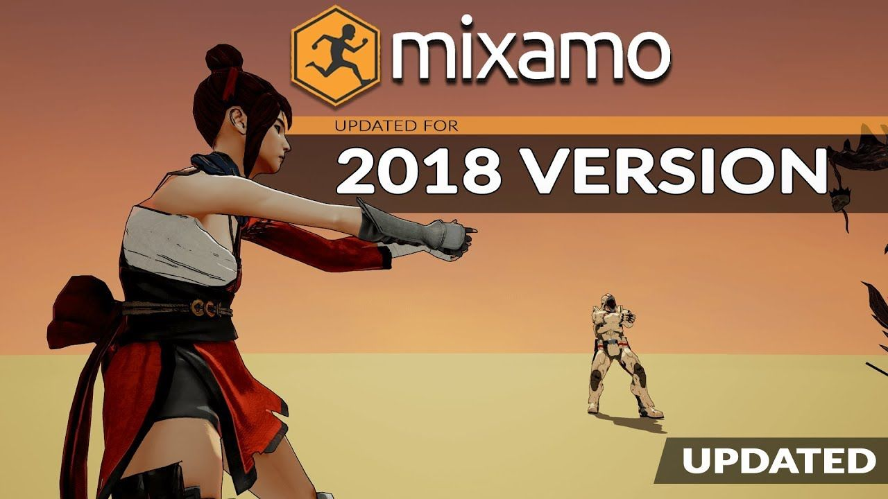 Character animation with adobe mixamo for beginners 2018