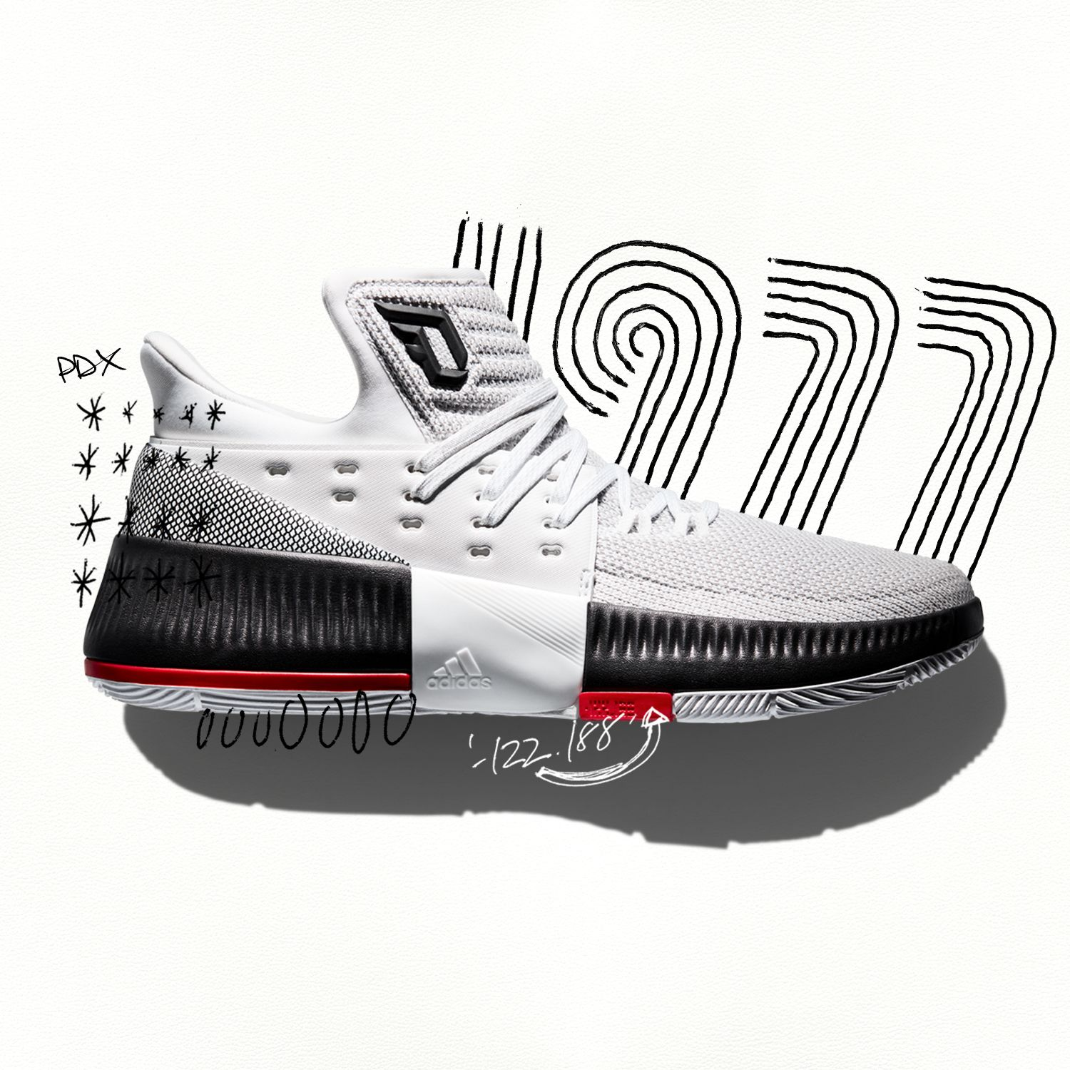 Adidas introduces Damian Lillard s new Dame 3  9c51536ef