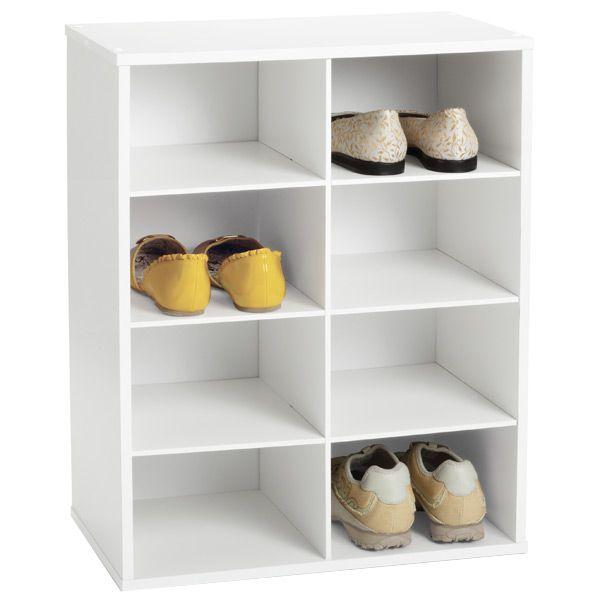 8 Pair Shoe Organizer Closet Shoe Storage Container Store Shoe Organizer