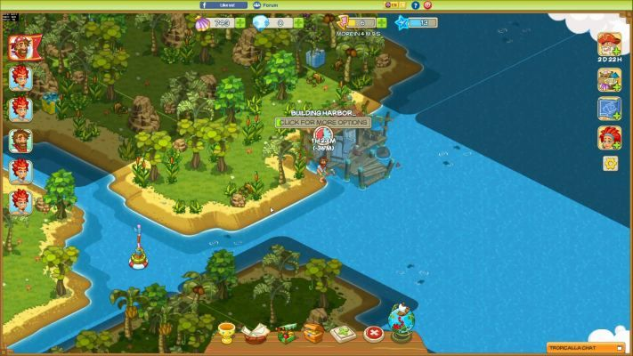 Tropicalla Is A Free To Play Browser Based Bb Tropical Island Management Multiplayer Online Game Online Multiplayer Games Mmo Games Online Games