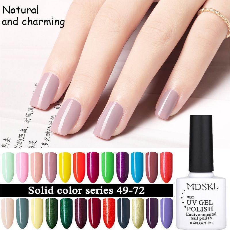 Moda 1 unids mdskl uv esmalte de uñas de gel 96 colores uv/led ...