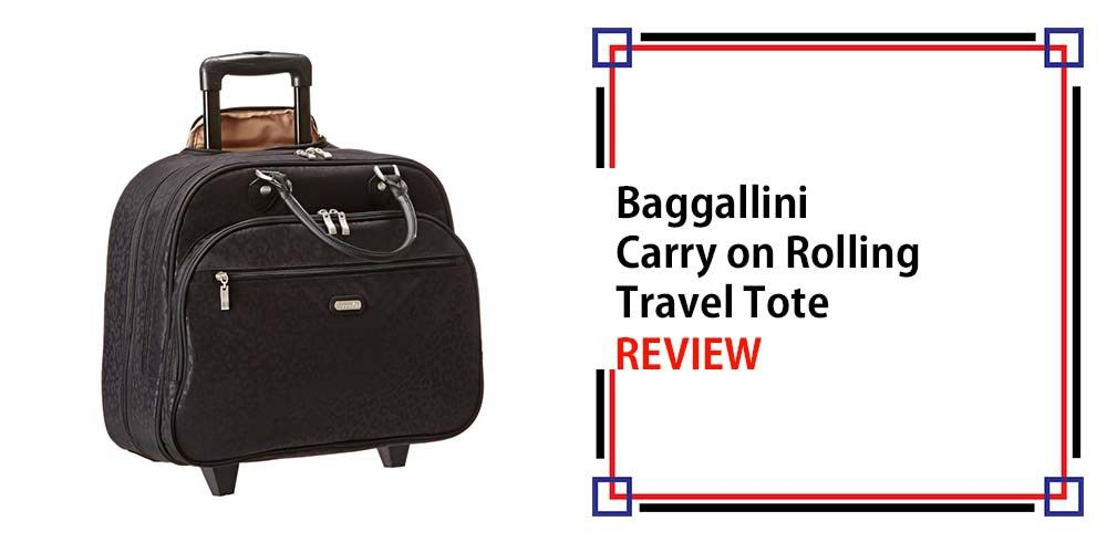 Baggallini Carry on Rolling Travel Tote Review   3D Gold Detector ... 524bb6ae0b