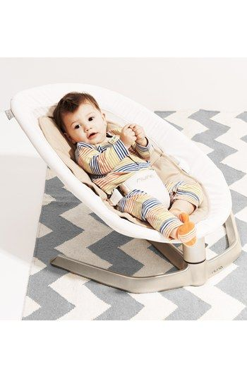nuna 'LEAF™' Baby Seat in place of a bouncy seat. Neutral colors. Modern and sleek. #swellregistryguide
