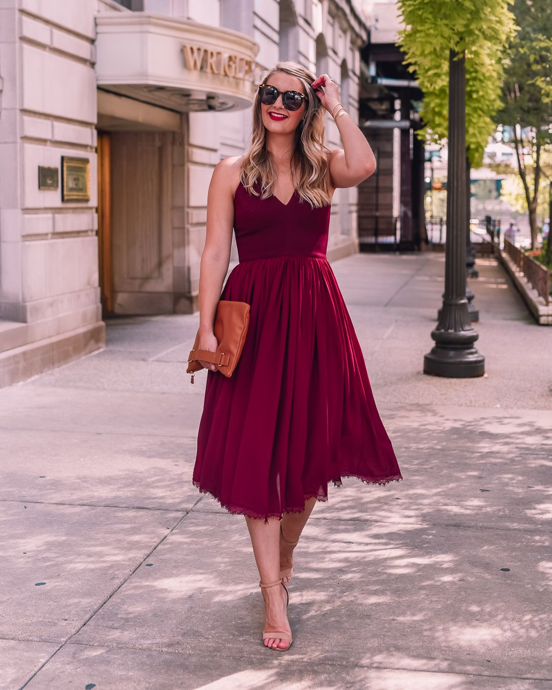 The Best Fall Wedding Guest Dresses Visions Of Vogue Fall Wedding Guest Dress Wedding Guest Outfit Fall Wedding Guest Dress [ 1350 x 1080 Pixel ]
