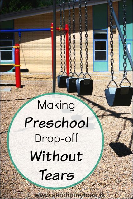 Tips for making sure your child goes off to preschool or kindergarten smiling, and not crying.