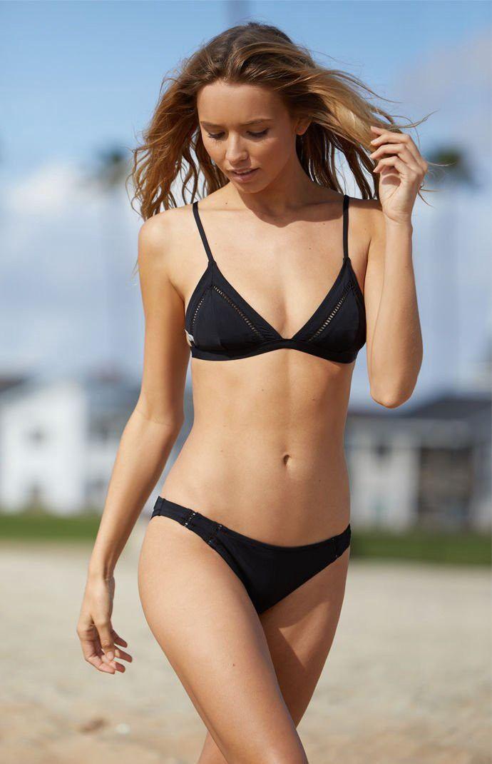 cb223d48184 Rhythm My Cheeky Bikini Bottom - Black Med
