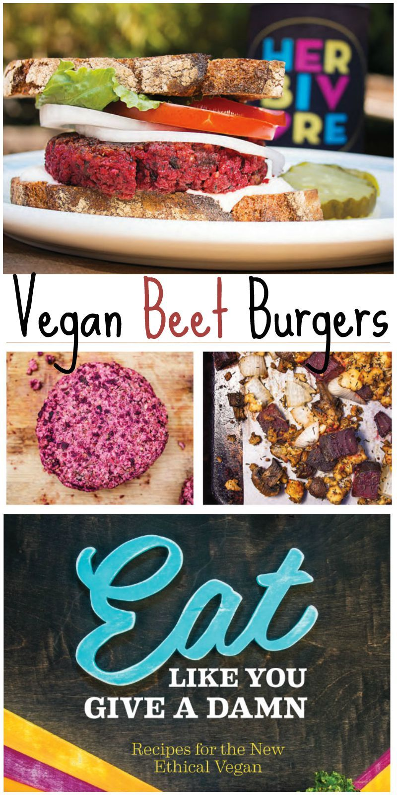 Roasted Beet Burgers