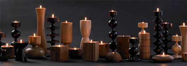 Modern Wooden Candle Holders Google Search