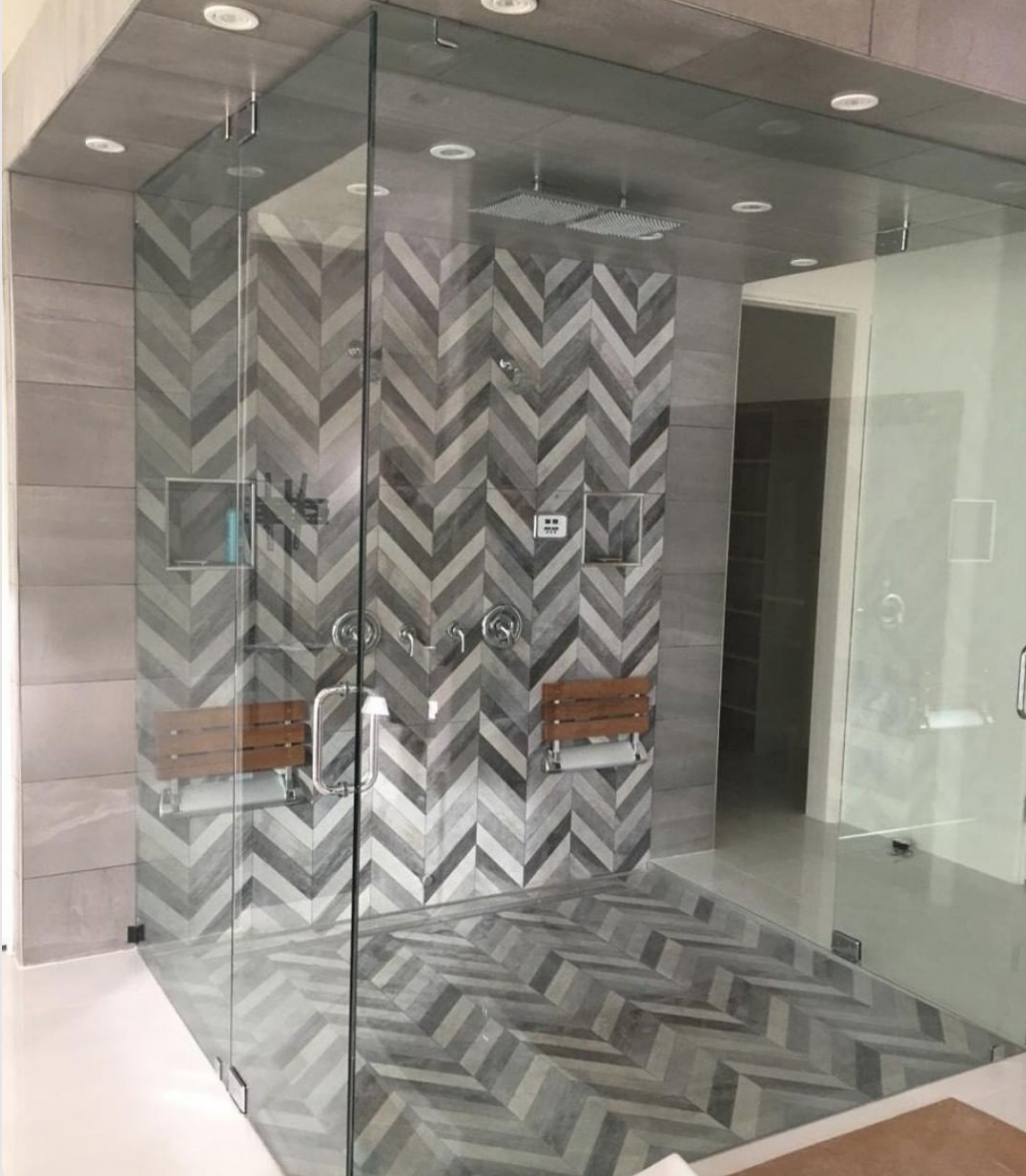 Top 8 Of 2018 Kitchen And Bath Designs On Instagram Kitchen And Bath Design Hospital Interior Design Shower Tile Designs