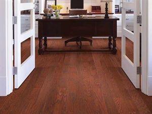 Shaw Floors Smoke House Red Oak Cherry 5 Smooth Engineered Red Oak Hardwood