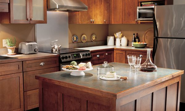Swingle Stiers Countertops Formica Laminate Wooden Cabinets Cottage Kitchens