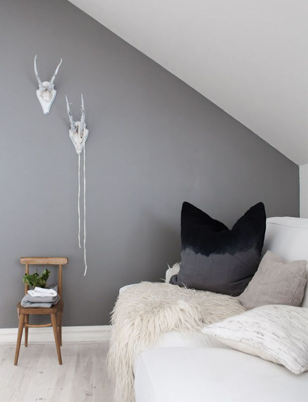 Good medium grey for an accent wall. | Industrial/Minimalist ...