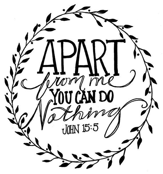Apart From Me You Can Do Nothing Print