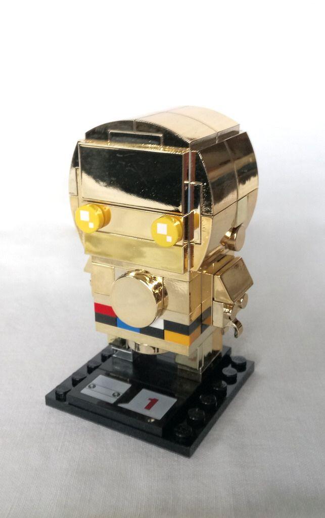 C 3po Instructions Available Brickheadz Pinterest Lego Lego