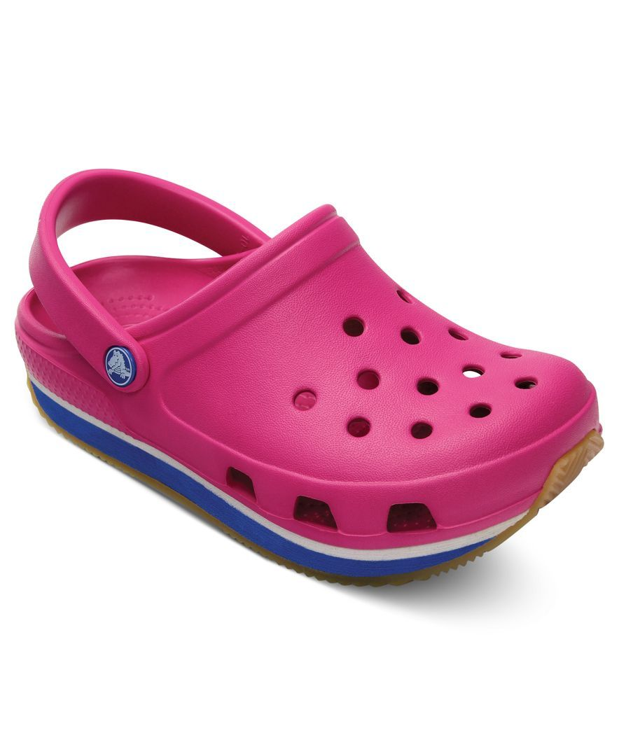 Crocs Kids Shoes, Girls or Boys Retro Clogs
