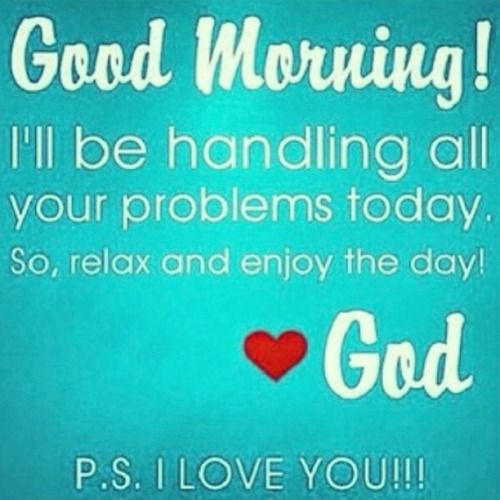 The Promise That I Can Rest On Gods Promises Good Morning God