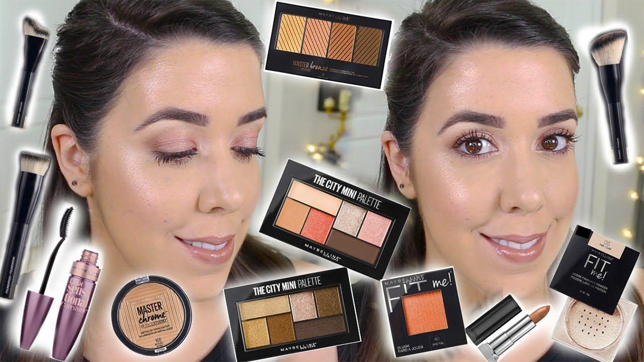 Nuevos productos de maybelline ny review y tutorial maquillaje