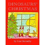 BoyChild Chooses: The 12 Reviews of Christmas, Day 6–Dinosaurs' Christmas #1weihnachtstaglustig Dinosaurs' Christmas, by Liza Donnelly (1991) When I showed this to BoyChild and said it was one of the dinosaur Christmas books I had picked up, he was confused at first until saw the dinosaur orn... #1weihnachtstaglustig