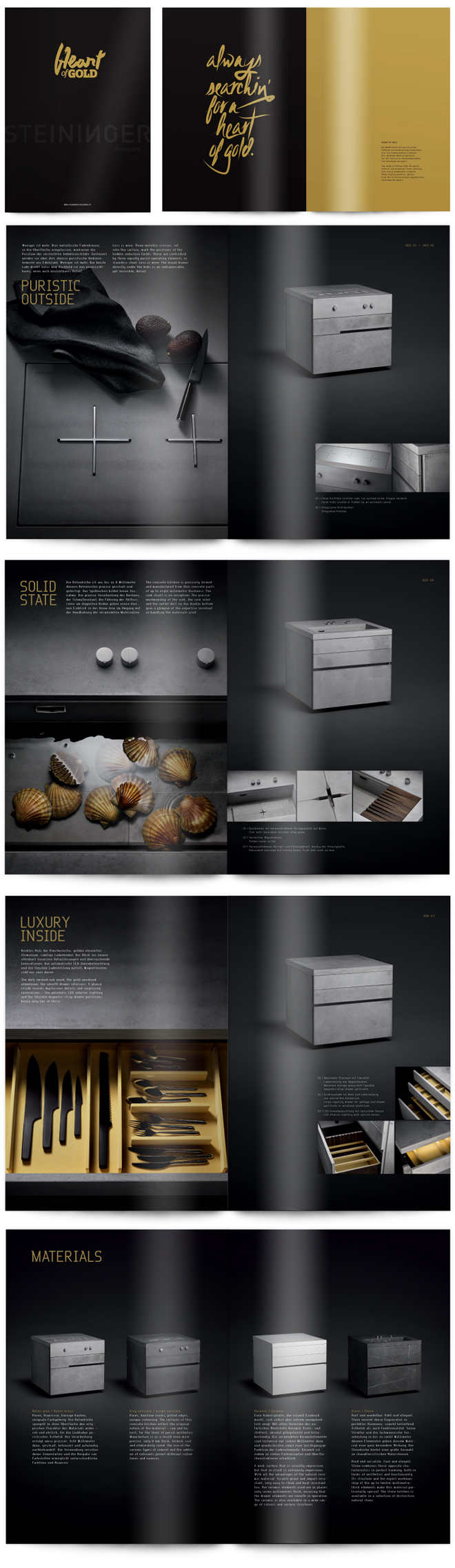 Logodesign, Corporate Design, Webdesign für Steininger Designers ...