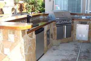 Gptconstruction Com Outdoor Kitchen With Kegerator Beer Tap Outdoor Kitchen Kitchen Summer Kitchen