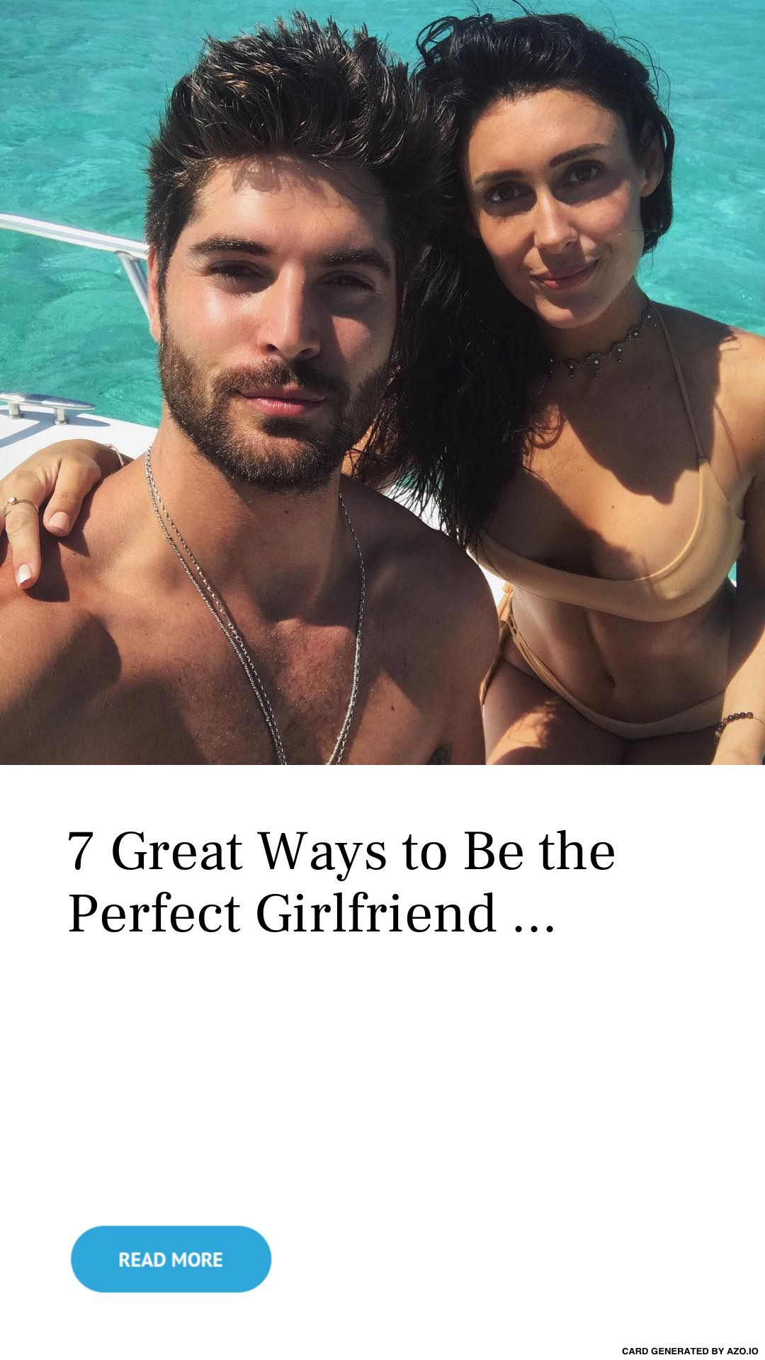 Ways to be the perfect girlfriend